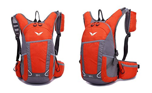 HWSY The New Ultra-light Waterproof Outdoor Backpack Sports Men and Women Riding Backpack 30L Hiking Backpack
