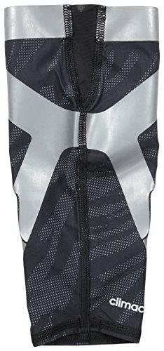 Adidas Performance Powerweb Calf Sleeve, Black/Lead/Light Onix, X-large