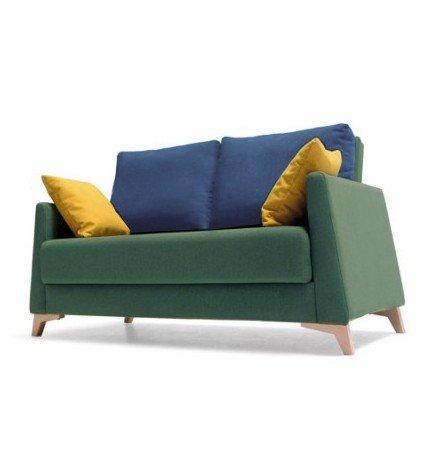 SHIITO Sofá Dos plazas con Cama de 130x200 cm tapizado en ...