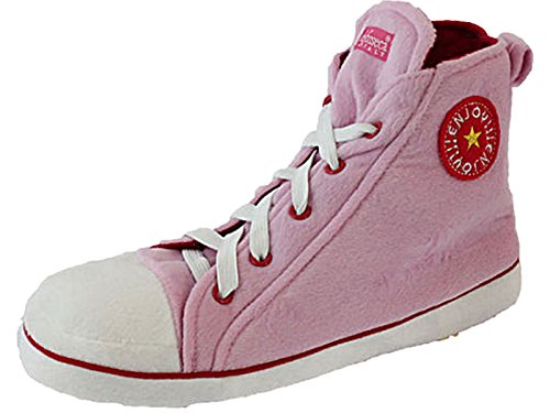 Unisex Men's Women's Chuck Taylor Style Converze Novelty Slippers Ankle Hi Top Boot New Pink O5z8Xqt16m