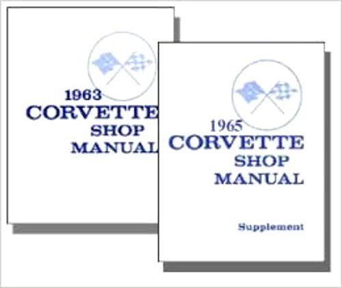 - FULLY ILLUSTRATED 1965 CHEVY CORVETTE FACTORY REPAIR SHOP & SERVICE MANUAL SET - ALL MODELS - You Must Have Both Manuals To Have A Complete 1965