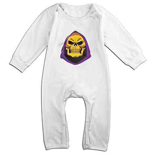 MoMo LOL Skeletor KidsToddler Romper Playsuit Outfits 24 Months White -