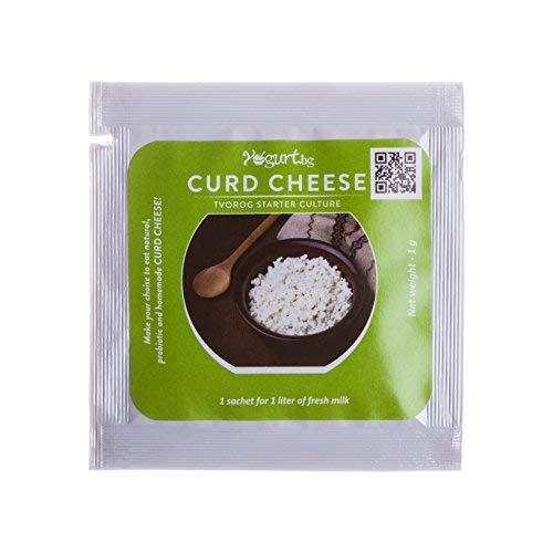 Curd Cheese Farmer Cheese Yogurt.bg – Tvorog Starter Culture Pack of 3 sachets for Home Made