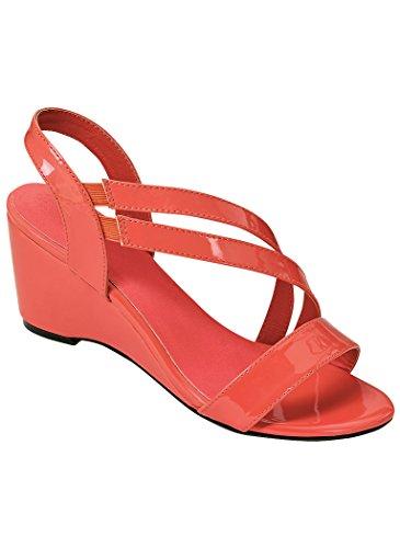 Sofwear Women's Adult by Beacon Daria 10 Narrow US Women/Coral