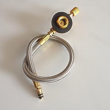 tubo de la estufa de gas tubo de combustible para velas de exterior estufas Conexión Botella