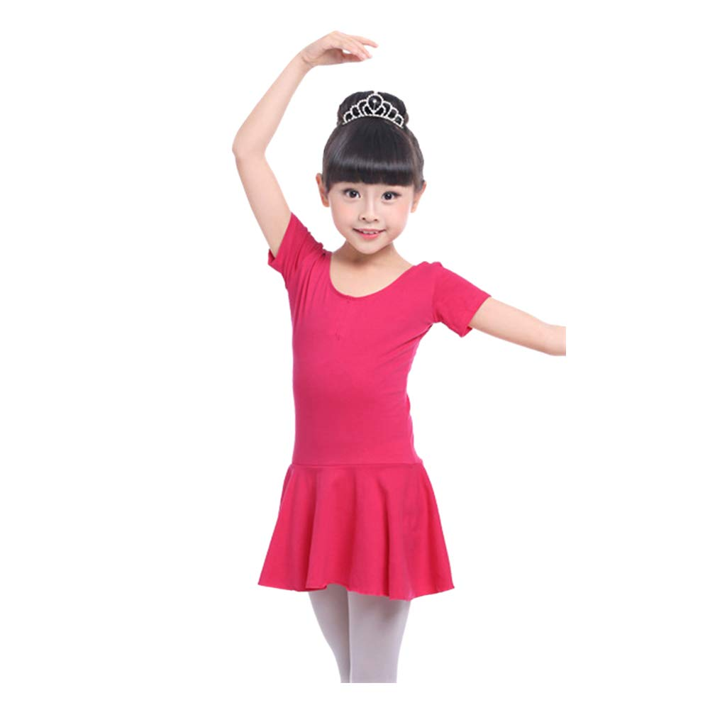 Xingsiyue Girls Ballet Leotards Latin Dance Gymnastic Dress Tutu Skirt