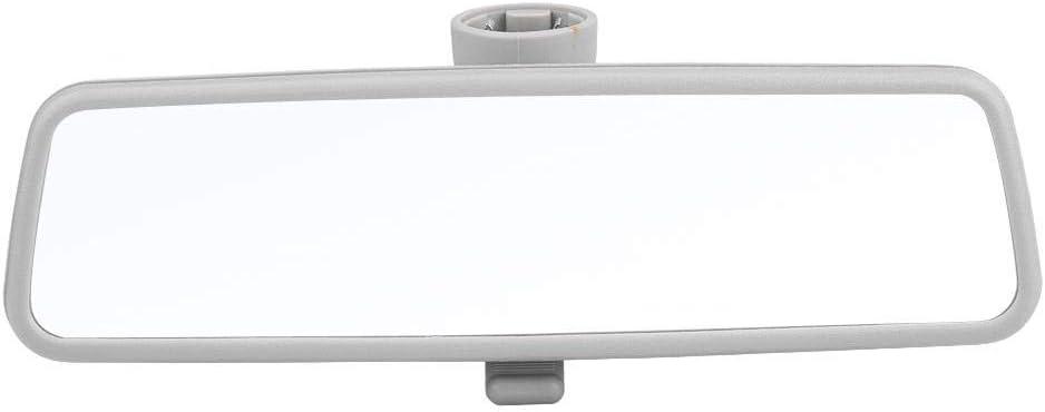 Kimiss Auto Rückspiegel Universal Innenspiegel Rückspiegel Weitwinkel Sicherheitsspiegel Zusatzspiegel Für B5 Mk4 99 05 3b0857511g Silber Auto