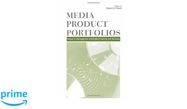 Amazon com: Media Product Portfolios: Issues in Management of