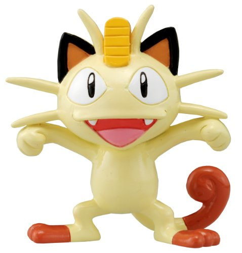 Takaratomy Pokemon Monster Collection M Figure - M-070 - Meowth