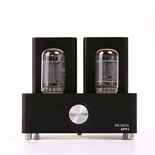 Gemtune APPJ PA1501A mini tube amplifier with 6AD10 tube (black) APPJ