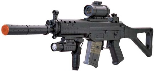 CYMA Navy SEAL Assault Rifle SG 552 Airsoft Electric Gun by CYMA