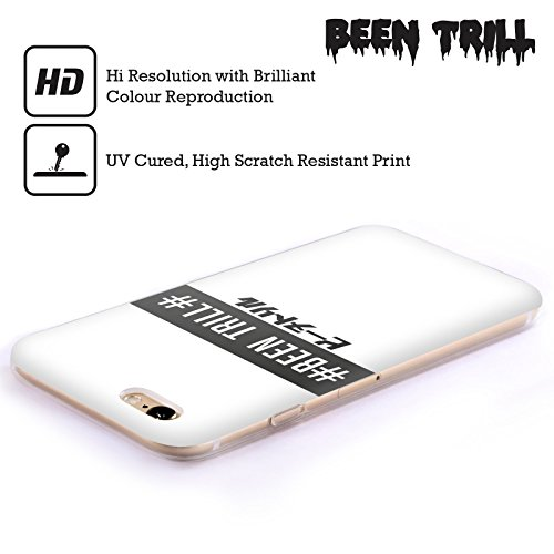 Official Been Trill Stamp 2 Black And White Soft Gel Case for Apple iPhone 6 Plus / 6s Plus