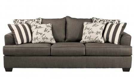 Signature Design by Ashley Levon Sofa, Charcoal