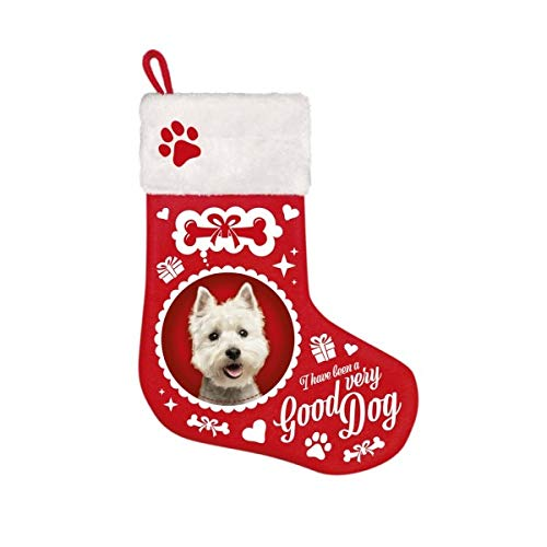 plenty gifts calzino di Noel sul Theme del Westie PLENTY PET