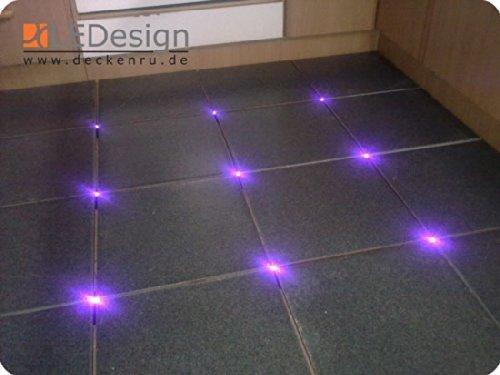 16 x piastrelle led 3 mm fuga luce illuminazione con trasformatore