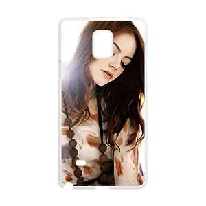 QQQO Emma Stoun Aktrisa Design Pesonalized Creative Phone Case For Samsung Galaxy Note4 Kimberly Kurzendoerfer
