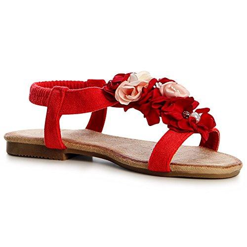 Sandalettes topschuhe24 topschuhe24 Sandales Femmes Rouge Femmes wPxnRvZgq