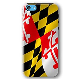 Maryland State Flag United States Flags iPhone 5C Armor Phone Case