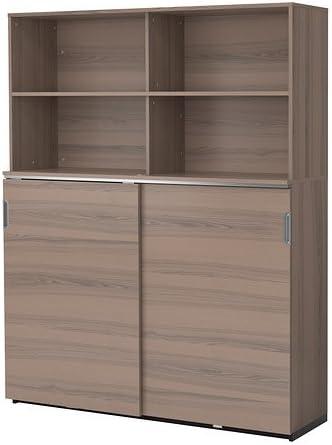 Ikea 162018.292329.3010 - Combinación de Almacenamiento con Puertas correderas, Color Gris: Amazon.es: Juguetes y juegos