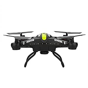 Andoer JJRC H8C 4-CH 360°Flips 2.4GHz Remote Control RC Quadcopter with 6-Axis Gyro HD 2MP FPV Camera RTF