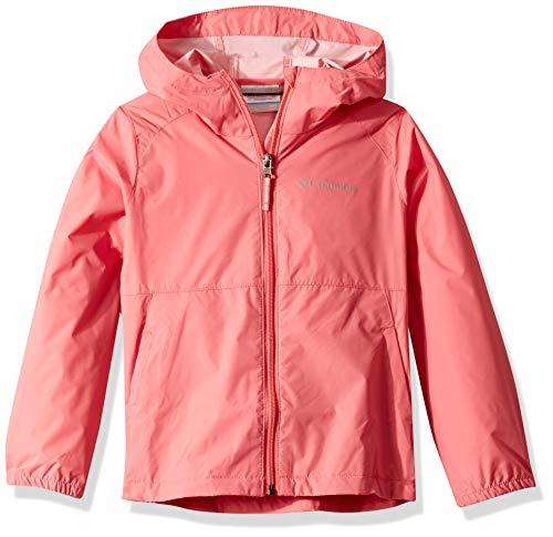 Columbia Girls' Toddler Switchback II Jacket, Wild Salmon, 4T (Columbia Big Girls)