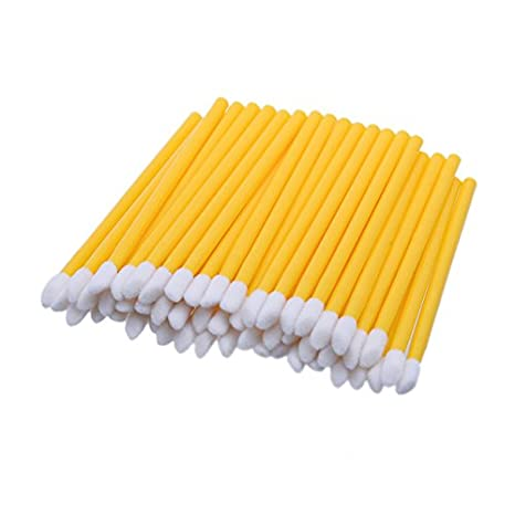 Buy Generic Yellow  GUJHUI 50PC Disposable Lip Brush Wholesale Gloss Wands  Applicator Women Make Up Tool Gift For Beauty A01 Online at Low Prices in  India ... 976febd81c4