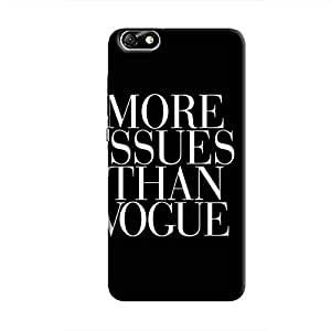 Cover It Up Vogue Issues Hard Case For Huawei Honor 4X, White & Black