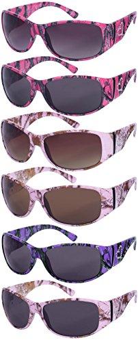 Edge-I-Wear-Womens-Wrap-Style-Sunglasses-with-Camo-Design-32091P-AP