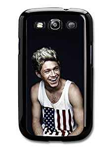Niall Horan American Flag Smiling 1D One Direction case for Samsung Galaxy S3 A1657