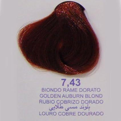 Tinte Pelo 7.43 Rubio Cobre Dorado Mix Up Tubo 100 ml: Amazon ...