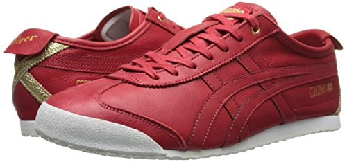 hot sale online ba720 9fcec Onitsuka Tiger Mexico 66 Fashion Sneaker, Red Mesh/Red ...