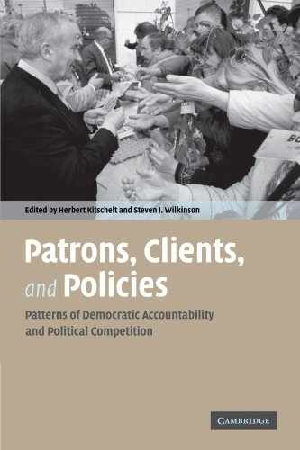 Patrons  Clients And Policies  Patterns Of Democratic Accountability And Political Competition