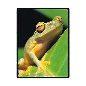 "Doubee &apos Frog Rana Forro Polar de Punto–Manta Premium techo Blanket 58x 80"""
