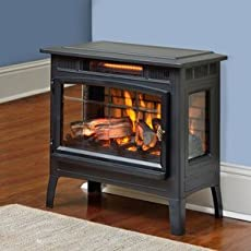 The 40 Best Electric Fireplaces And Stoves Of 2019 Family Living Today