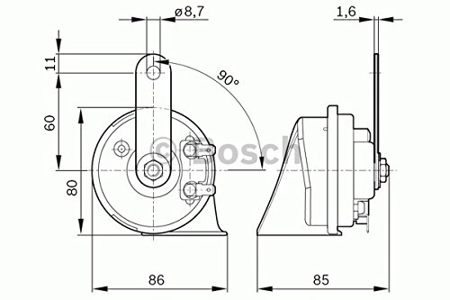 Bosch 6033FB1217 Fanfare Horn