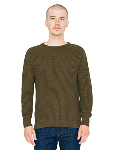 american-apparel-mens-fishermans-pullover-sweater-military-olive-x-large