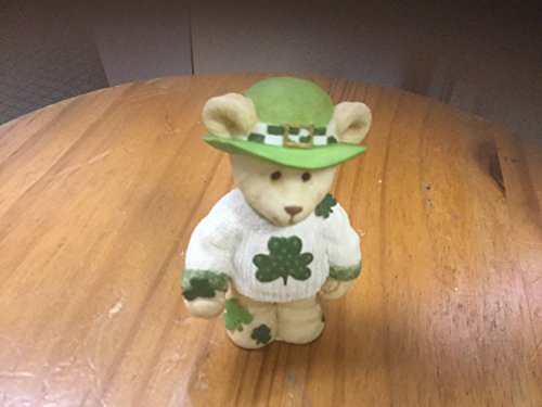 "Sarah's Attic ""Lucky Bear Hug"" March Figurine"