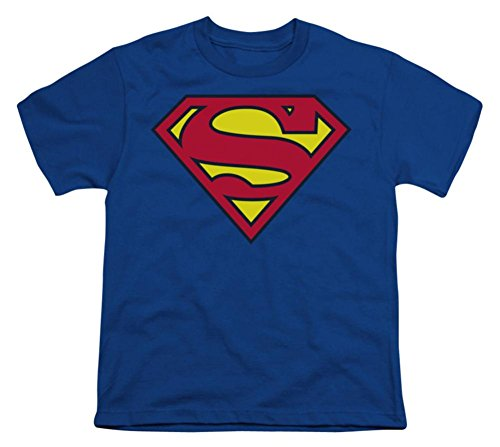 Youth: Superman - Classic Logo Kids T-Shirt Size YL -