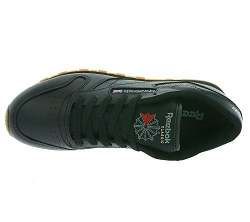 Damen Reebok Schwarz Sneaker Leather Classic vqdaq