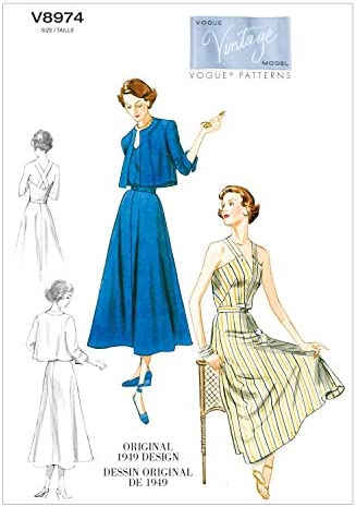 14-16-18-20-22 Vogue Sewing Pattern 9338 Jackets E5