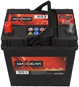 Quality Parts Auto bater/ía 12/V 35/Ah 300/A L 187/x 127/x 227/LxBxH Fijaci/ón Jap/ón Corea