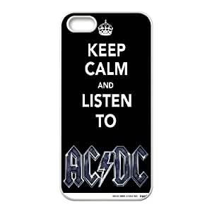 New ACDC Poster fans phone Case Cover for iPhone 5/5S Cases ART116466