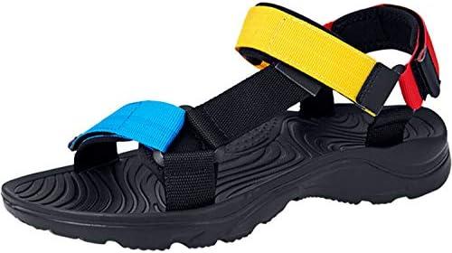 [スポンサー プロダクト][visionreast] サンダル メンズ オフィス ベルクロ スポーツサンダル 黒 超軽量 かかと 安い アウトドア ビーチサンダル オシャレ 滑り止め 歩きやすい 大きい 夏 通勤 24.5-27.5cm