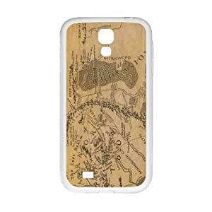 Brown Map New Style High Quality Comstom Protective case cover For Samsung Galaxy S4