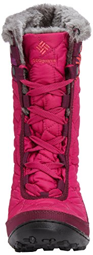 888664561286 - Columbia Youth Minx Mid WP OH Winter Boot (Little Kid/Big Kid), Deep Blush/Tropic Pink, 4 M US Big Kid carousel main 3
