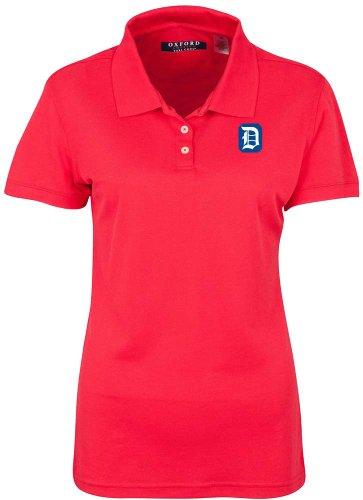 NCAA Duquesne Dukes Women's Ladies' Classic Pique Polo, Cardinal, XX-Large