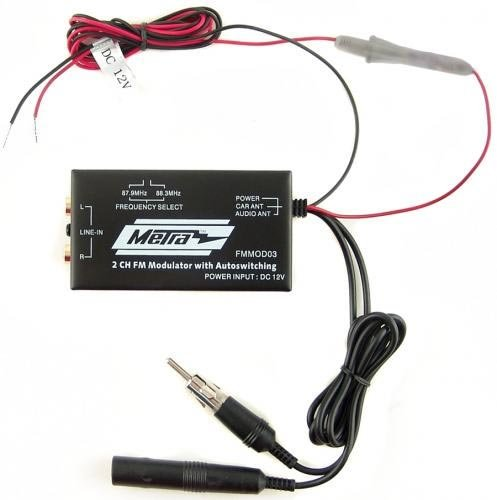 SIRIUS XM Radio Hardwired FM Modulator (Radio Fm Modulator Xm Sirius)