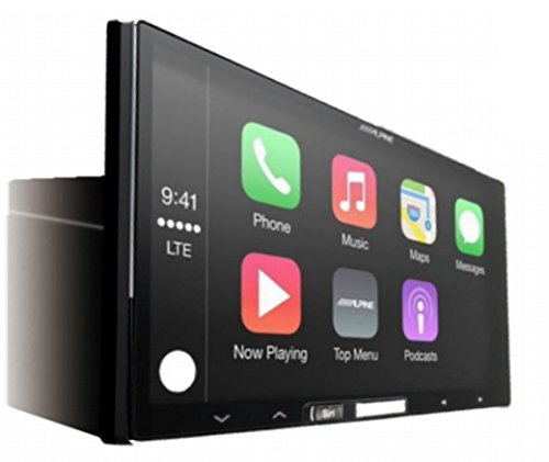 Alpine ILX-107 7'' Mech-less In-Dash Receiver with Wireless Apple CarPlay by Alpine