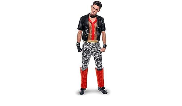 Disfraz de Punky de los años 80 para hombre: Amazon.es: Juguetes y ...