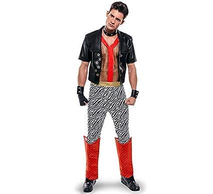 Disfraz de Punky de los años 80 para hombre: Amazon.es ...